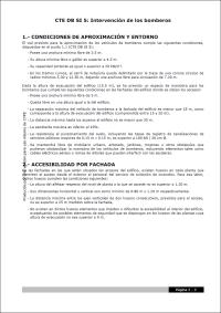DB SI 5 – Intervención de los bomberos